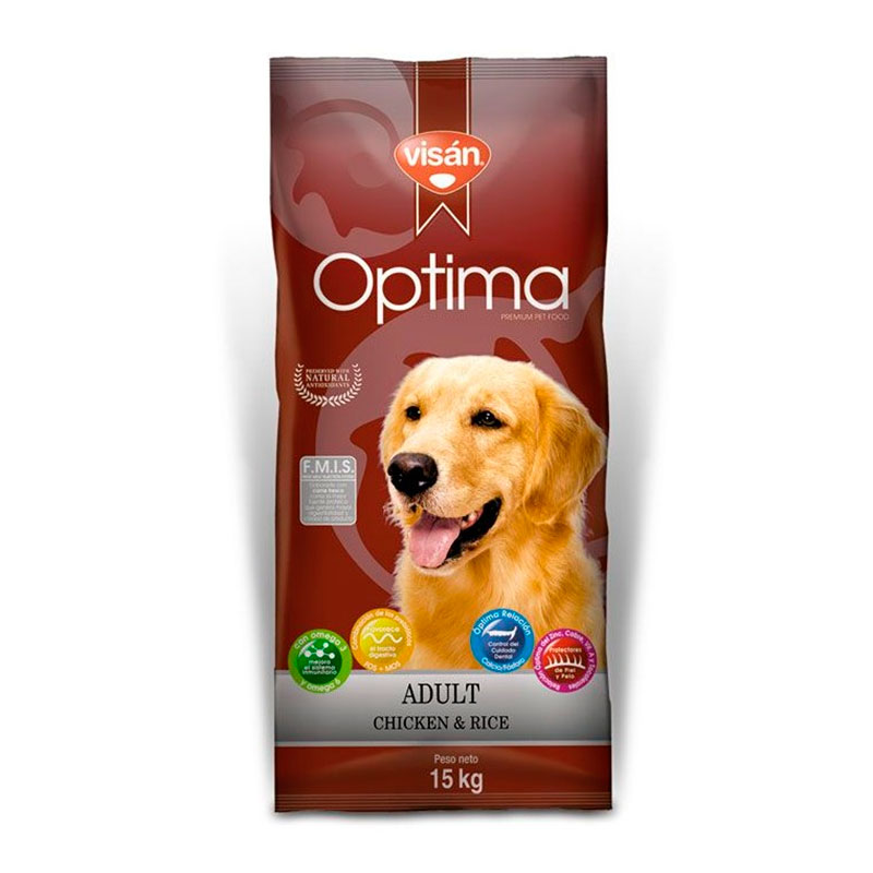 Visan Optima Adult Chicken & Rice