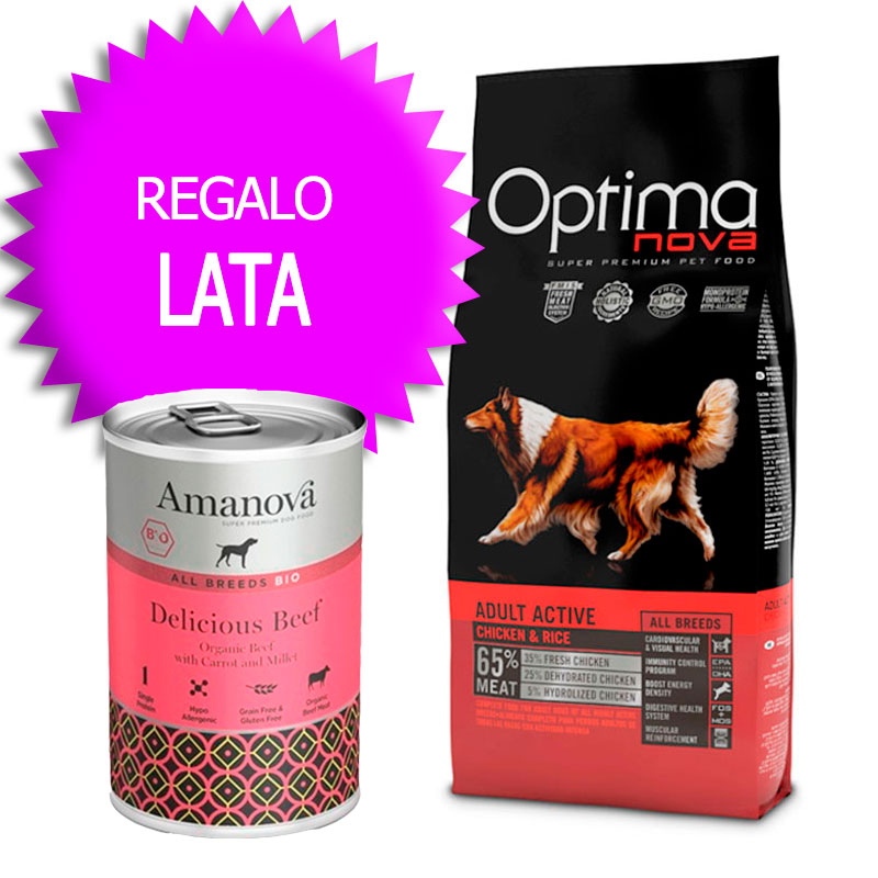 Optima Nova Adult All Breeds Active 12Kg