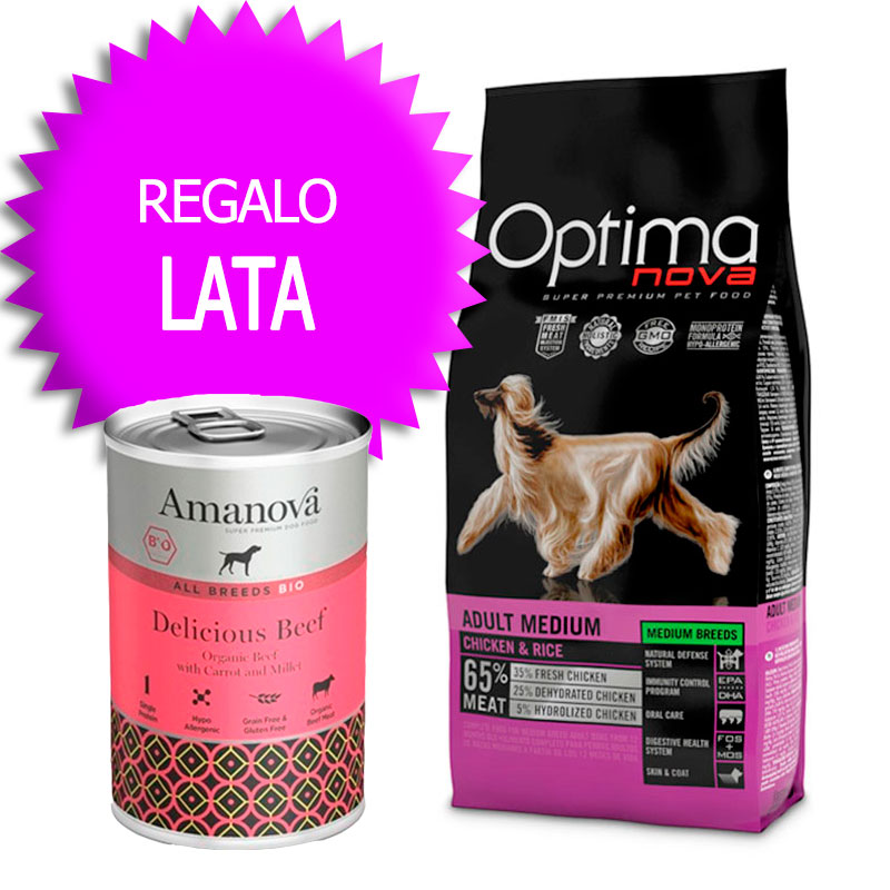 Optima Nova Adult Medium Chicken and Rice
