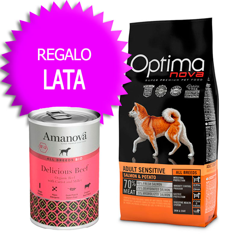 Optima Nova Grain Free Adult All Breeds Sensitive Salmon