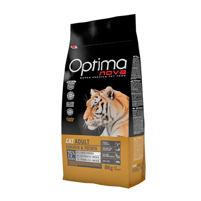 Optima Nova Grain Free Cat Adult Chicken & Potato