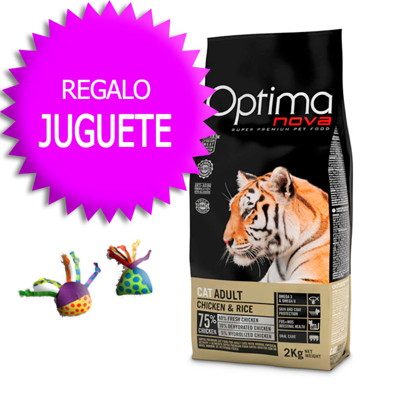 Optima Nova Gato Adult Chicken & Rice