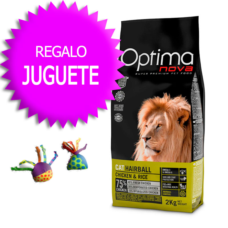 Optima Nova Gato Adult Hairball