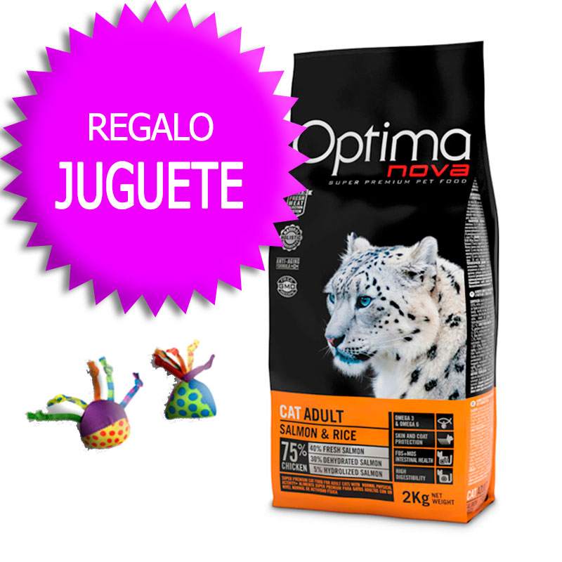 Optima Nova Gato Adult Salmon & Rice