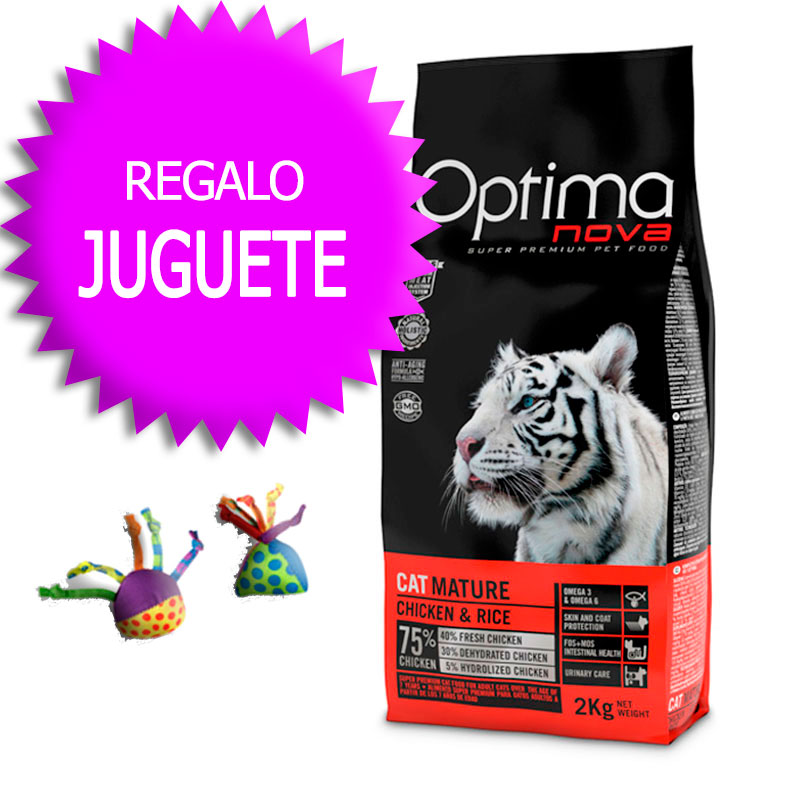 Optima Nova Gato Adult Mature