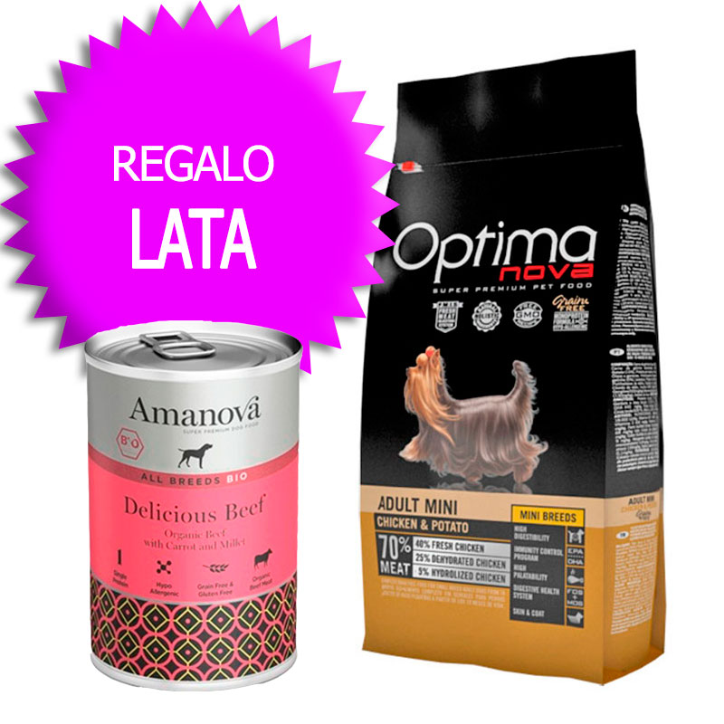Optima Nova Grain Free Adult Mini Chicken and Potato