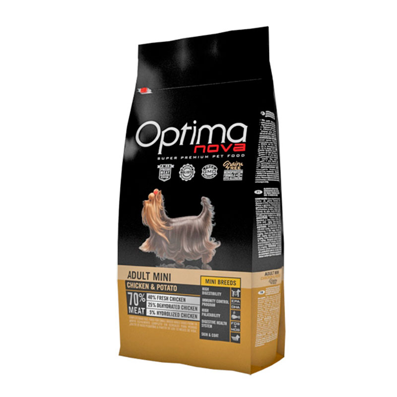 Optima Nova Grain Free Adult Mini Chicken & Potato