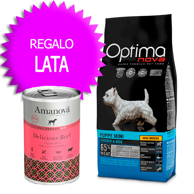 Optima Nova Puppy Mini Chicken and Rice