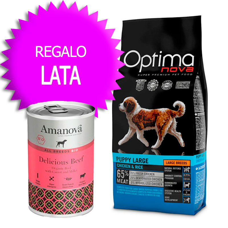 Optima Nova Puppy Large Chicken and Rice