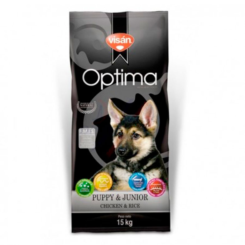 Visan Optima Puppy & Junior Chicken & Rice