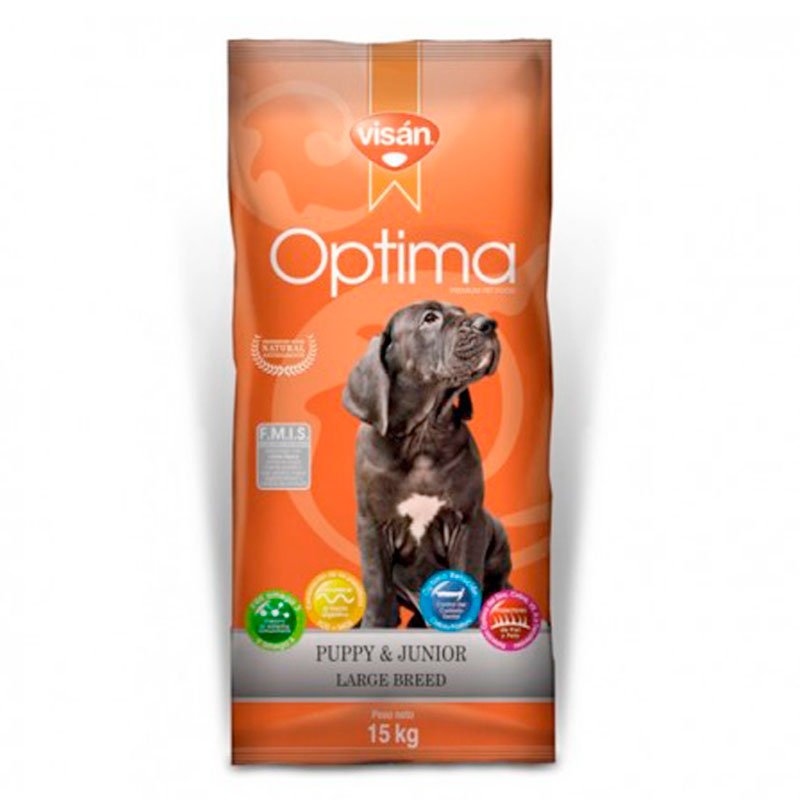 Visan Optima Puppy & Junior Large Breed