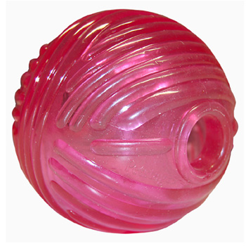Orka Ball Rosa Petstages Rubber Dog Toy