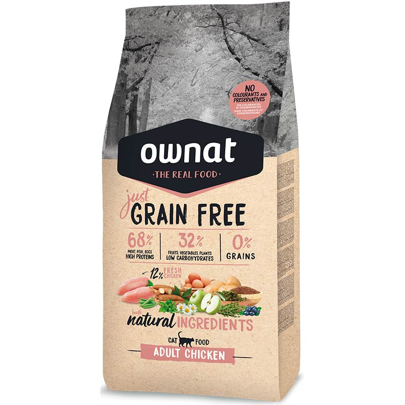 Cotecnica Ownat Just Grain Free Adult Complet Gato