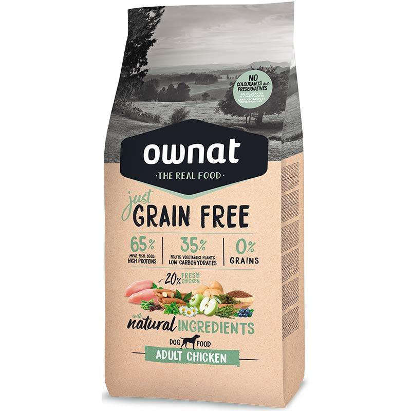 Cotecnica Ownat Just Grain Free Complet Chicken Perro