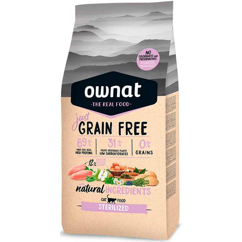 Cotecnica Ownat Just Grain Free Complet Sterilized