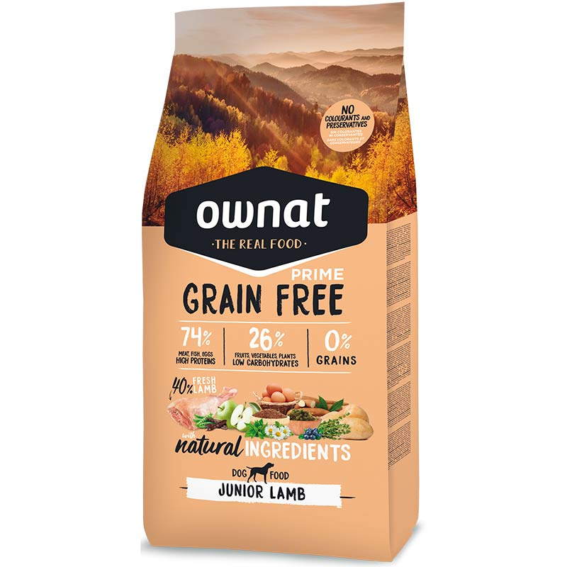 Cotecnica Ownat Prime Grain Free Junior Lamb Dog