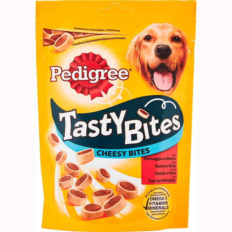 Pedigree Tasty Minis Cheesy