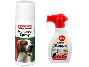 Repellents for dogs