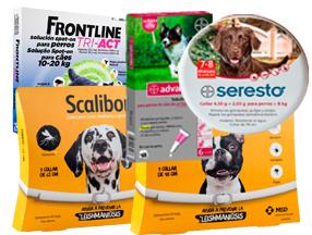 Antiparasitarios para mascotas en HuellaCanina.com