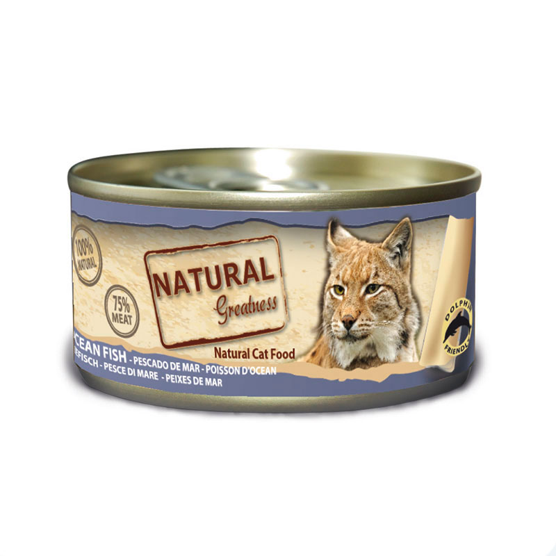 GIFT Can Cat Natural Greatness WFC 70gr (with bags of +6kg)