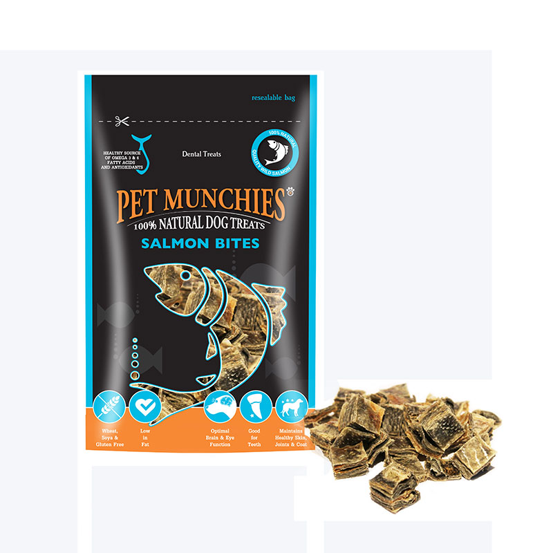 Pet Munchies Salmon Bites 90gr