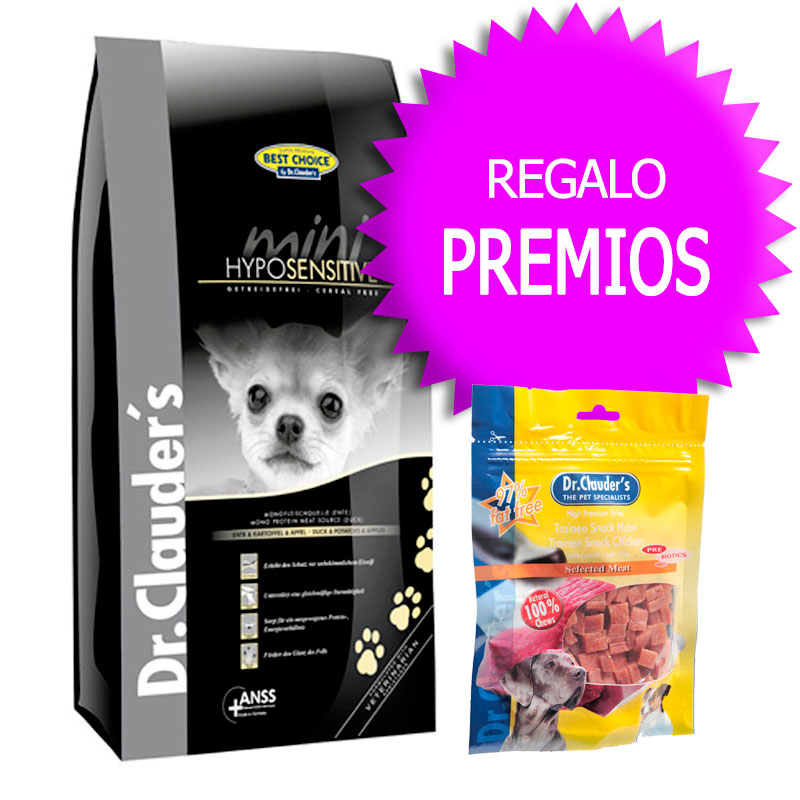 Dr  Clauder Best Choice Mini Adulto Hypoallergenic Pato y Patata