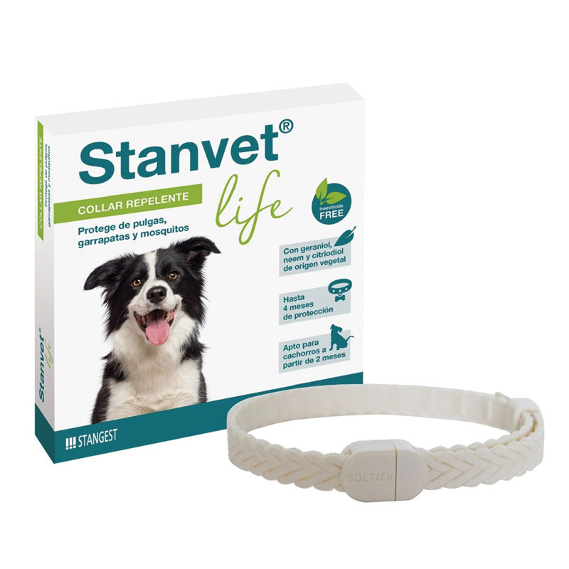 Collar Stanvet Life Natural Repulsive for Dogs 60