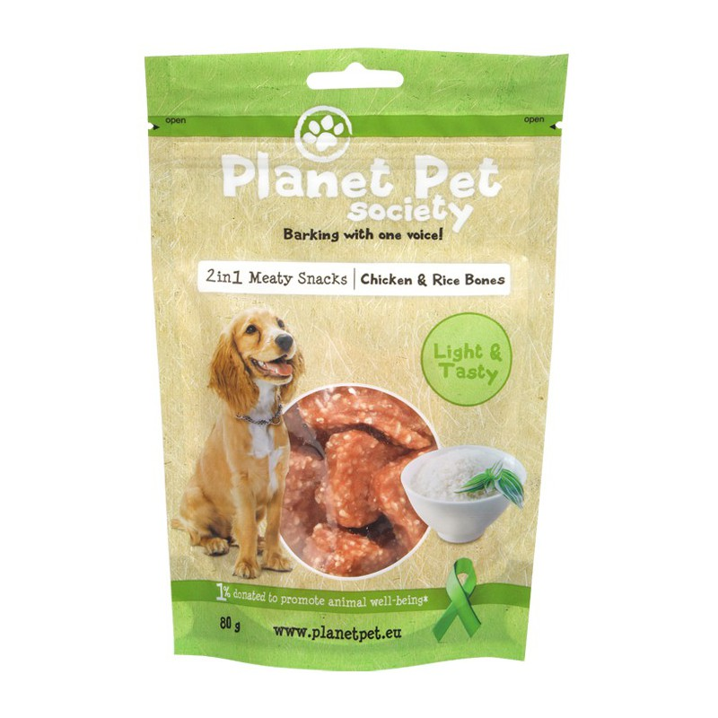Planet Pet Mini Bones Chicken & Rice