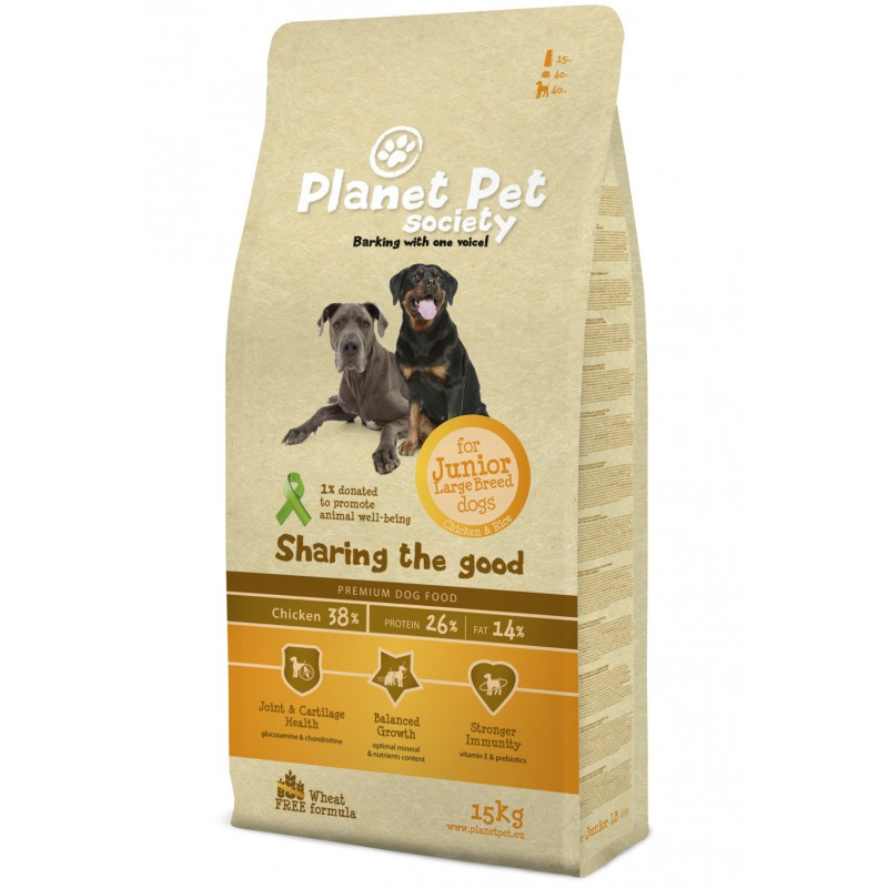 Planet Pet Junior Large Chicken & Rice