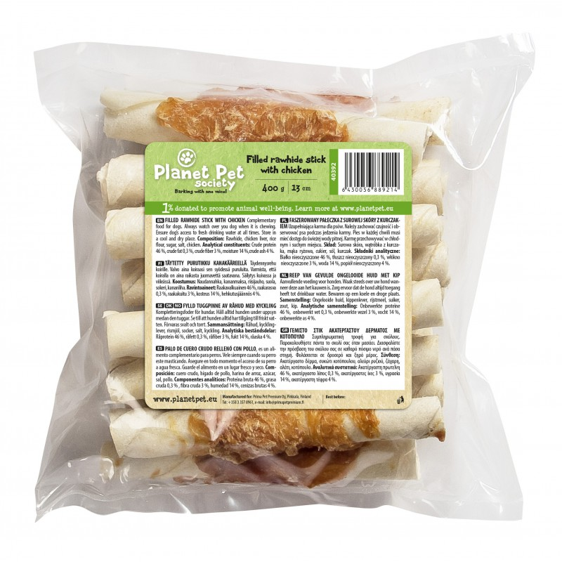 Planet Pet Roll Pressed Chicken