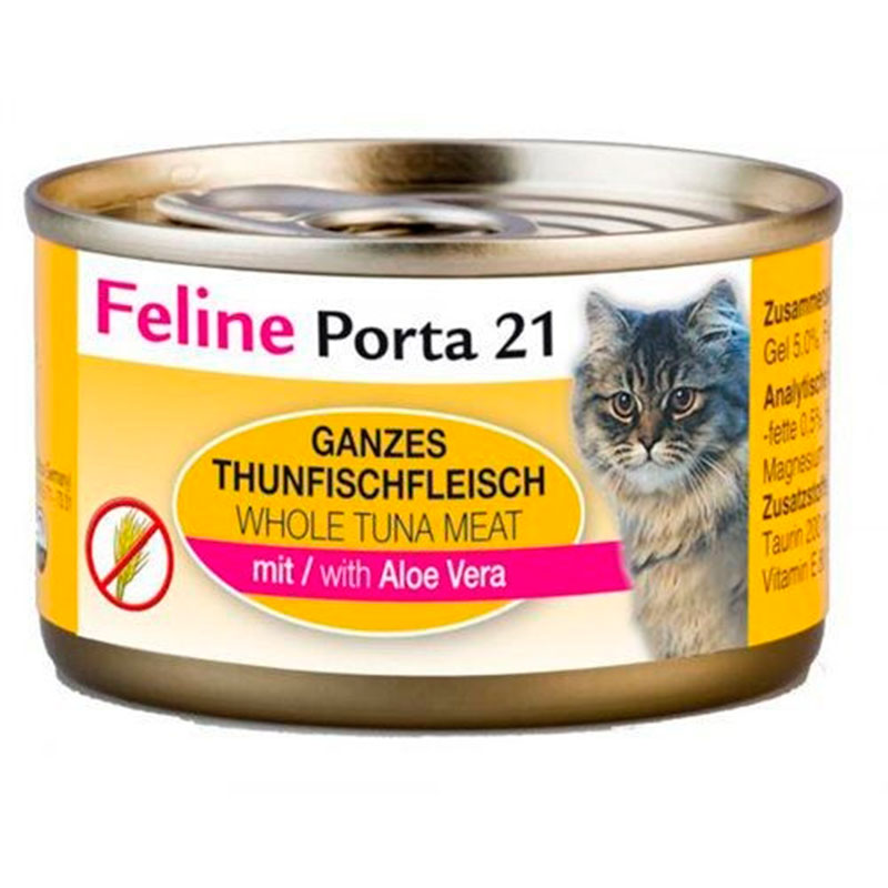 Porta21 Cat Can Tuna/Aloe No Cereals