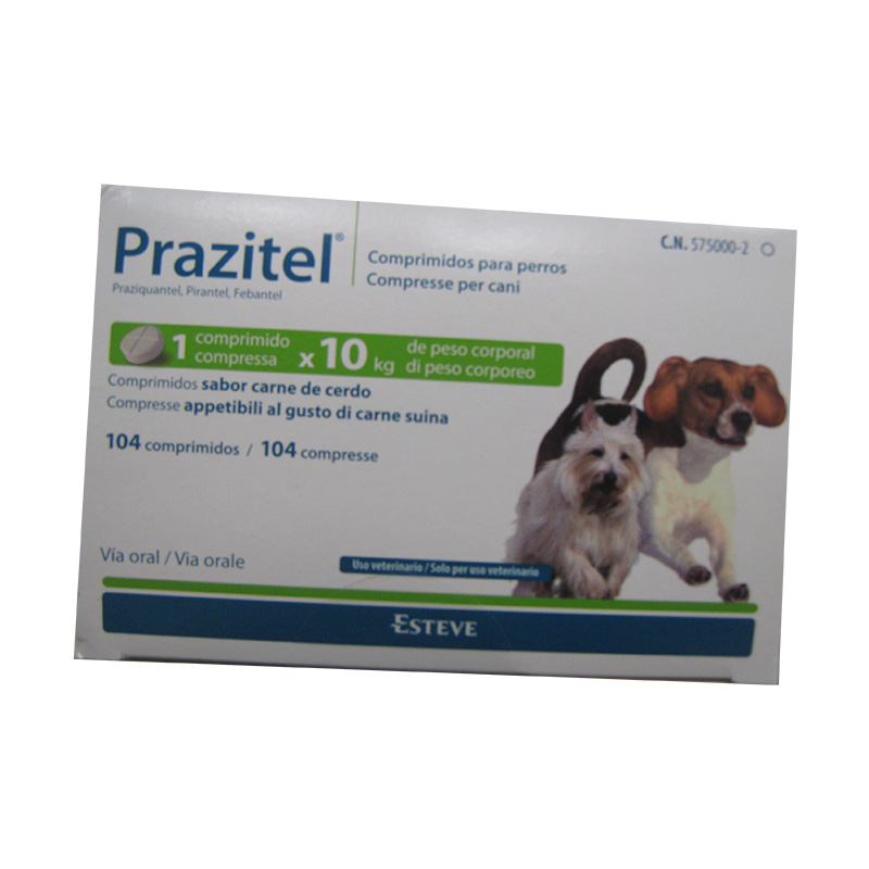 Internal Antiparasitic Prazitel 10Kg