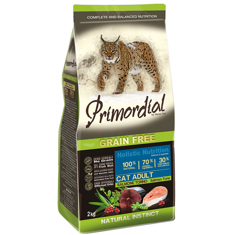 Primordial Adult Cat Salmon and Tuna