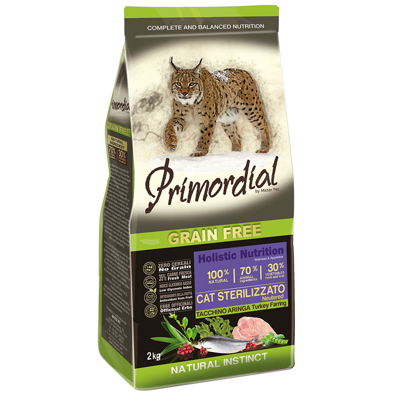 Primordial Adult Sterilized Cat Turkey and Herring