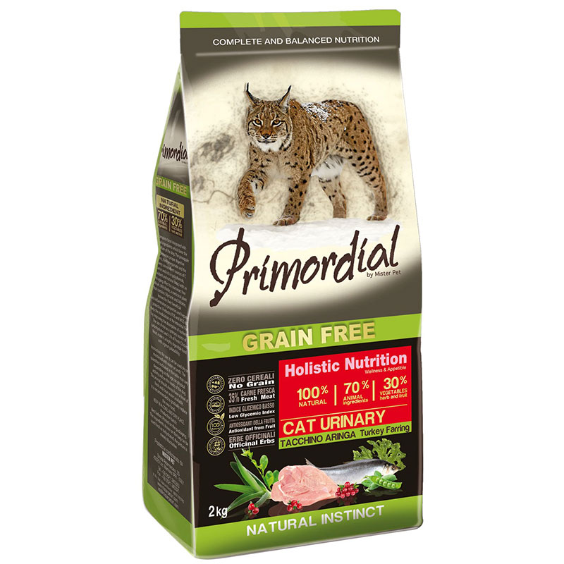 Primordial Adult Cat Urinary Turkey and Herring