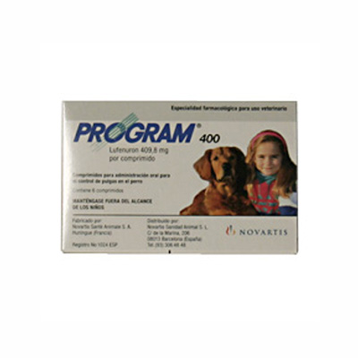 Antiparasitic Program 400 for Dogs 20 to 80 Kg