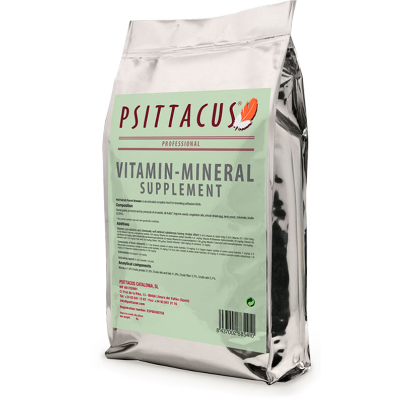 Psittacus Vitamin-Mineral Supplement