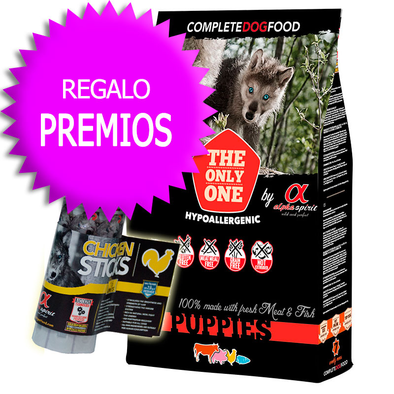 "Alpha Spirit ""The Only One"" Puppies 12Kg+Coupon"
