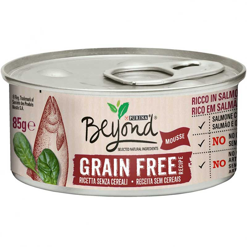 Purina Beyond Grain Free Mousse Cat Salmon