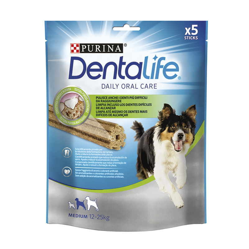 Dentalife Purina perros medianos 115gr