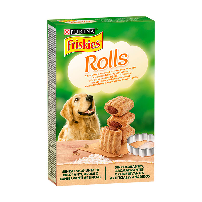Purina Friskies Rolls Dog Biscuits