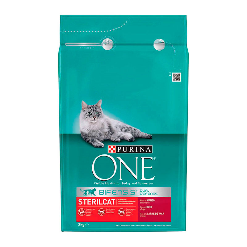 Purina One Sterilcat Bull & Wheat