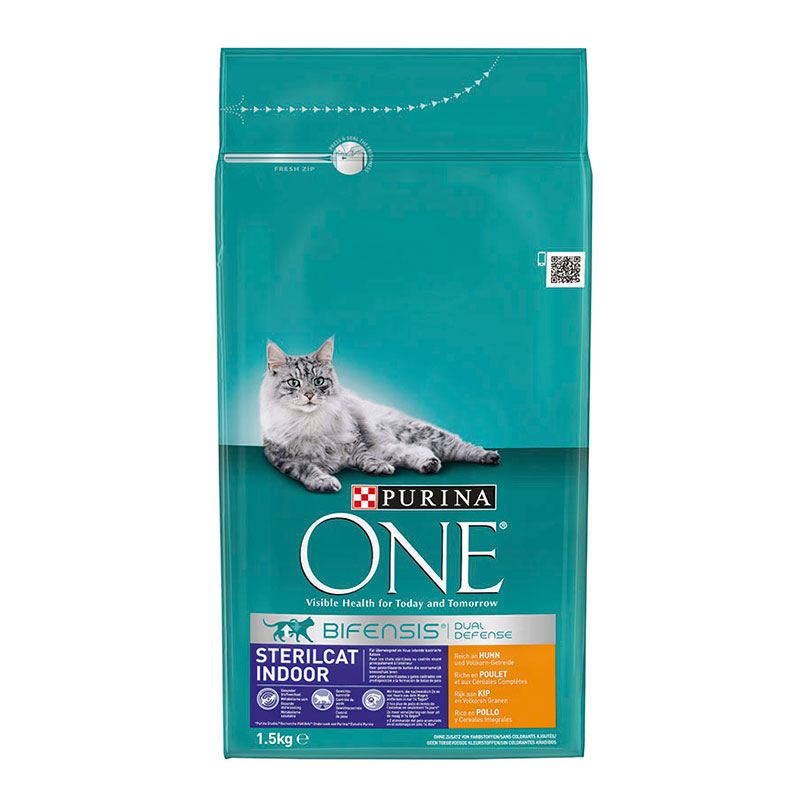 Purina One Indoor Sterilcat Chicken & Whole Grains