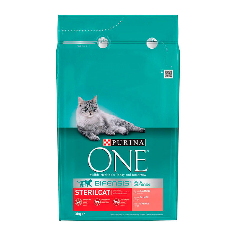 Purina One Sterilcat Salmon & Wheat