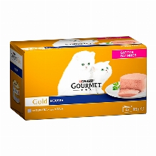 Gourmet Gold Mousse Kittens with Veal 4x85gr