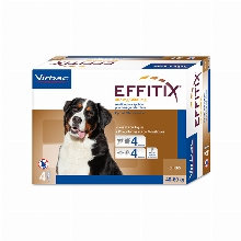 Effitix Pipettes for dogs 40-60kg