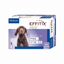 Effitix Pipettes for dogs 10-20kg