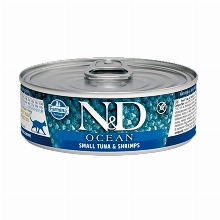 Farmina N&D Grain Free Ocean Cat Tuna & Shrimp Can