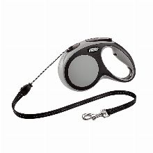 Retractable Leash flexi NEW COMFORT Basic Long Anthracite