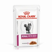 Royal Canin Cat Renal with beef Pouch